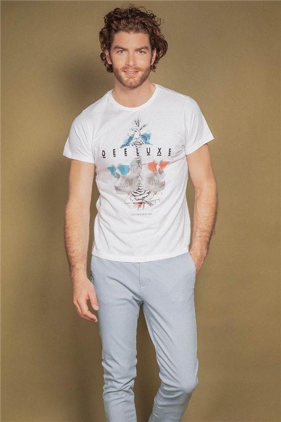 T-Shirt T-SHIRT AARON Homme S20163 (52414) - DEELUXE