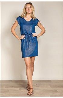 Robe JUSTINE Femme S20226W (52505) - DEELUXE