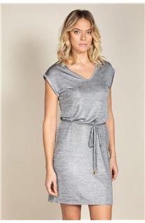 Robe JUSTINE Femme S20226W (52511) - DEELUXE