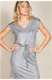 Robe JUSTINE Femme S20226W (52513) - DEELUXE