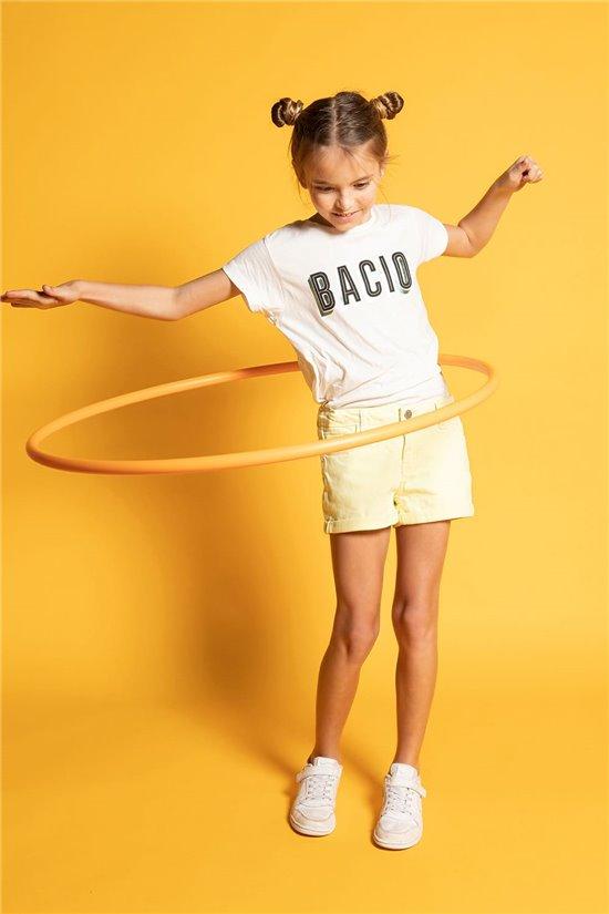 T-Shirt T-Shirt BACIO Fille S20125G (52534) - DEELUXE