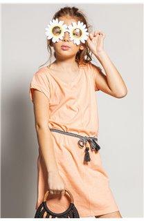 Robe TIME Fille S20212G (52563) - DEELUXE