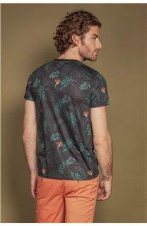 T-Shirt T-SHIRT MAIKA Homme S20136 (52617) - DEELUXE