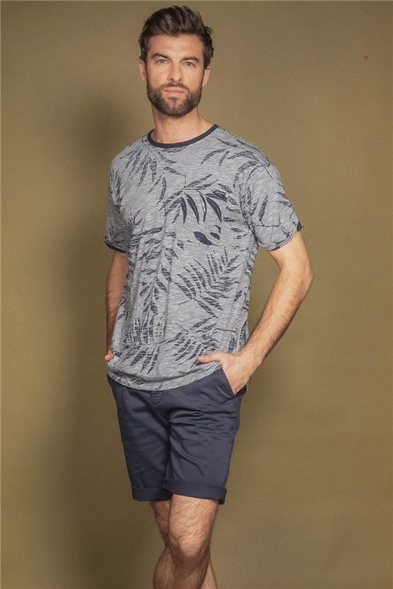 T-Shirt T-SHIRT IKI Homme S20115 (52619) - DEELUXE