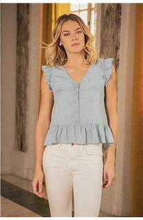 Blouse Blouse NELLY Femme S20406W (52706) - DEELUXE