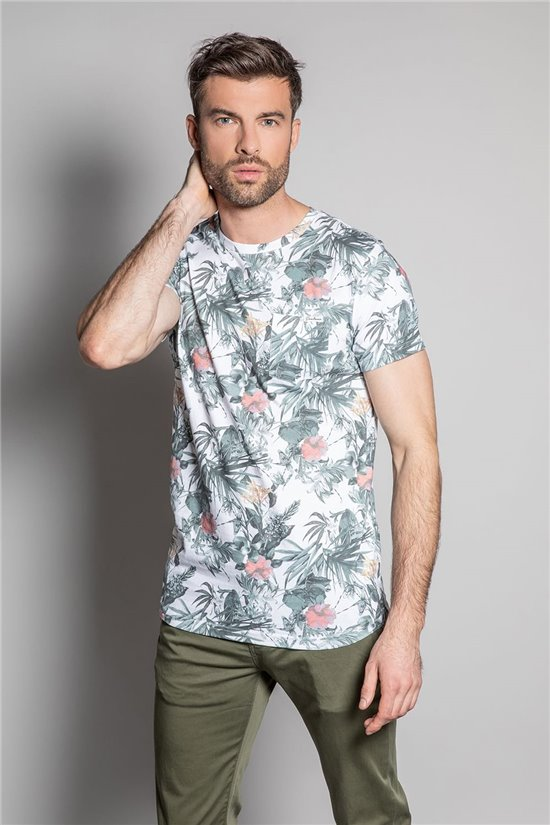 T-Shirt T-SHIRT AMAZONIA Homme S20157 (52733) - DEELUXE