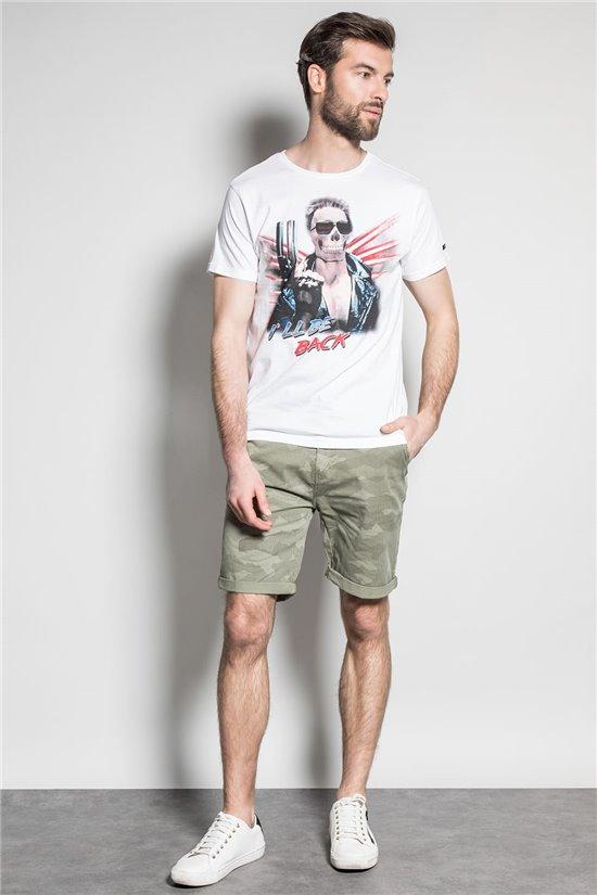 T-Shirt T-SHIRT ARNOLD Homme S20154 (52743) - DEELUXE