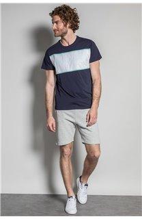 T-Shirt T-SHIRT DAREK Homme S20124 (52789) - DEELUXE