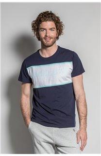 T-Shirt T-SHIRT DAREK Homme S20124 (52790) - DEELUXE