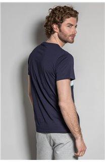 T-Shirt T-SHIRT DAREK Homme S20124 (52791) - DEELUXE