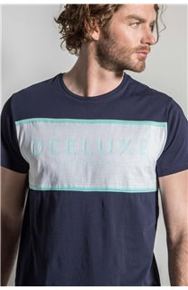 T-Shirt T-SHIRT DAREK Homme S20124 (52792) - DEELUXE