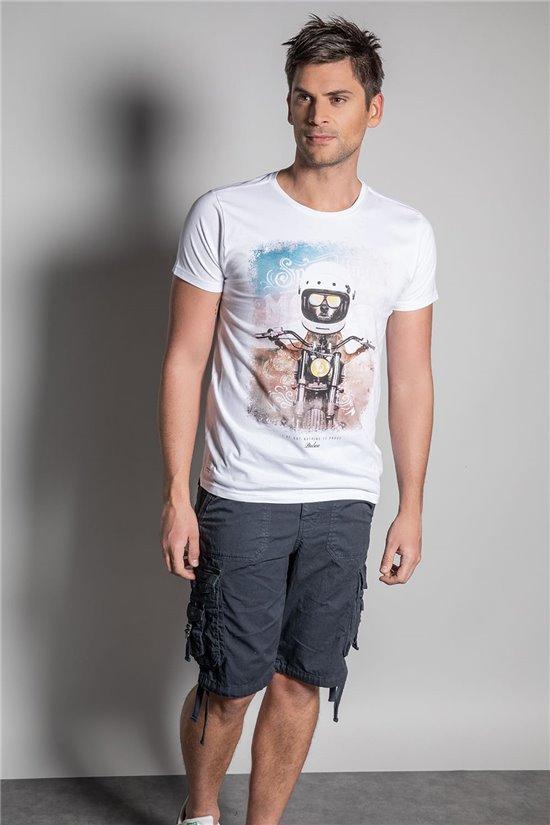 T-Shirt POKE Homme S20160 (52888) - DEELUXE
