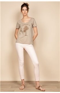 T-Shirt PARADISE Femme S20130W (53078) - DEELUXE