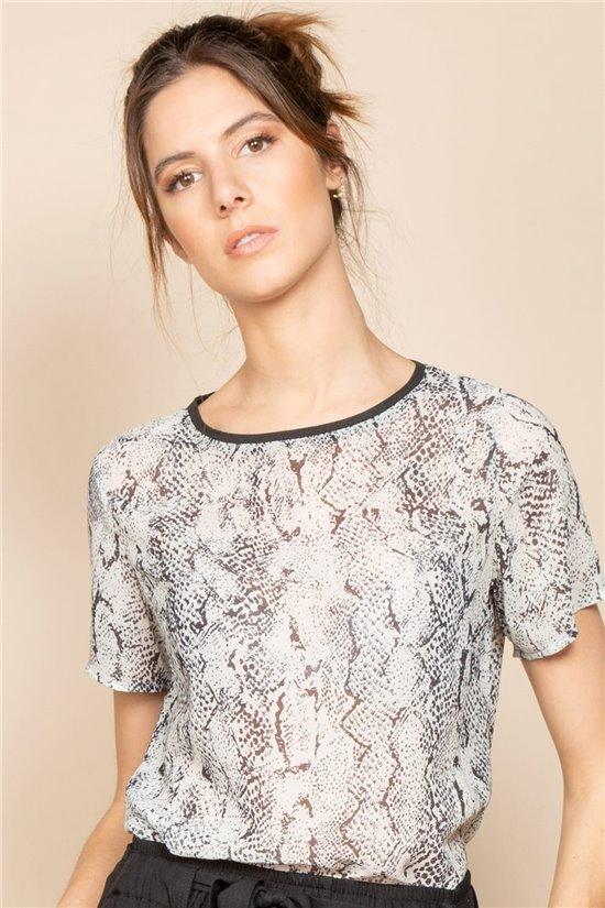 T-Shirt T-Shirt SOFIA Femme S20109W (53107) - DEELUXE