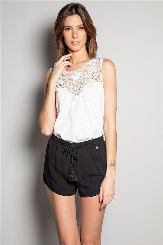Short Short LOCA Femme S20712W (53178) - DEELUXE