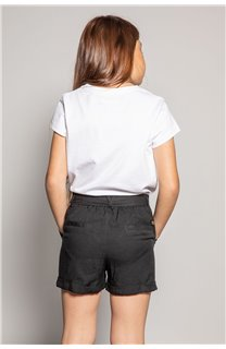 Short MERIDA Fille S20710G (53236) - DEELUXE
