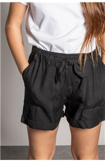 Short MERIDA Fille S20710G (53237) - DEELUXE