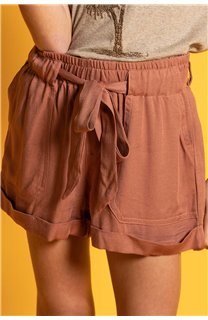 Short MERIDA Fille S20710G (53242) - DEELUXE