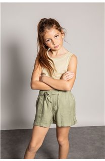 Short MERIDA Fille S20710G (53243) - DEELUXE