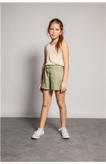 Short MERIDA Fille S20710G (53244) - DEELUXE