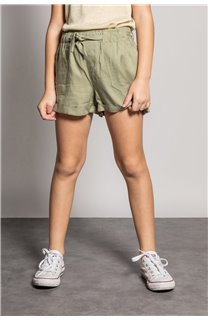 Short MERIDA Fille S20710G (53245) - DEELUXE
