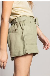 Short MERIDA Fille S20710G (53247) - DEELUXE