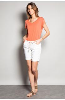 T-Shirt T-SHIRT SWEET Femme S19131W (53320) - DEELUXE