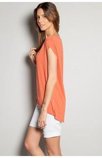 T-Shirt T-SHIRT SWEET Femme S19131W (53321) - DEELUXE