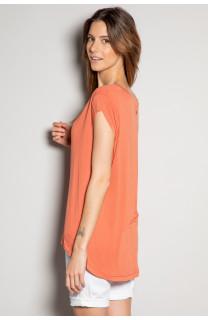 T-Shirt T-SHIRT SWEET Femme S19131W (53323) - DEELUXE