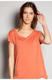 T-Shirt T-SHIRT SWEET Femme S19131W (53324) - DEELUXE