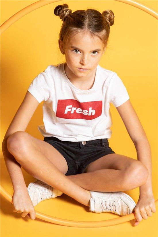 T-Shirt FRESH Fille S20135G (53331) - DEELUXE