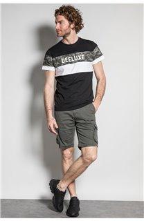 T-Shirt T-SHIRT WICKSON Homme S20185 (53411) - DEELUXE