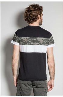 T-Shirt T-SHIRT WICKSON Homme S20185 (53413) - DEELUXE