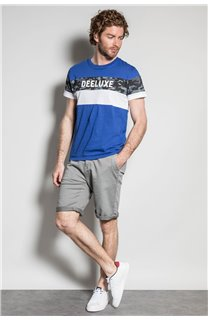 T-Shirt T-SHIRT WICKSON Homme S20185 (53416) - DEELUXE