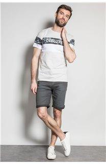 T-Shirt T-SHIRT WICKSON Homme S20185 (53421) - DEELUXE