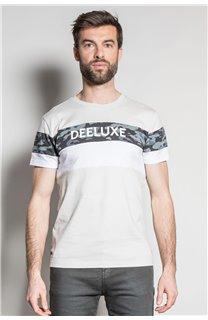 T-Shirt T-SHIRT WICKSON Homme S20185 (53422) - DEELUXE