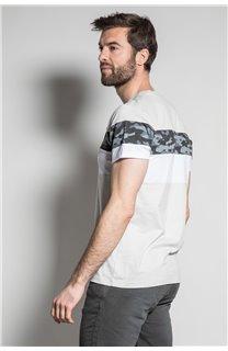 T-Shirt T-SHIRT WICKSON Homme S20185 (53423) - DEELUXE