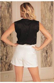 Blouse Blouse ANETTE Femme S20410W (53438) - DEELUXE