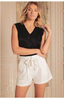 Blouse Blouse ANETTE Femme S20410W (53439) - DEELUXE
