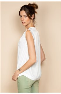 Blouse Blouse ANETTE Femme S20410W (53443) - DEELUXE