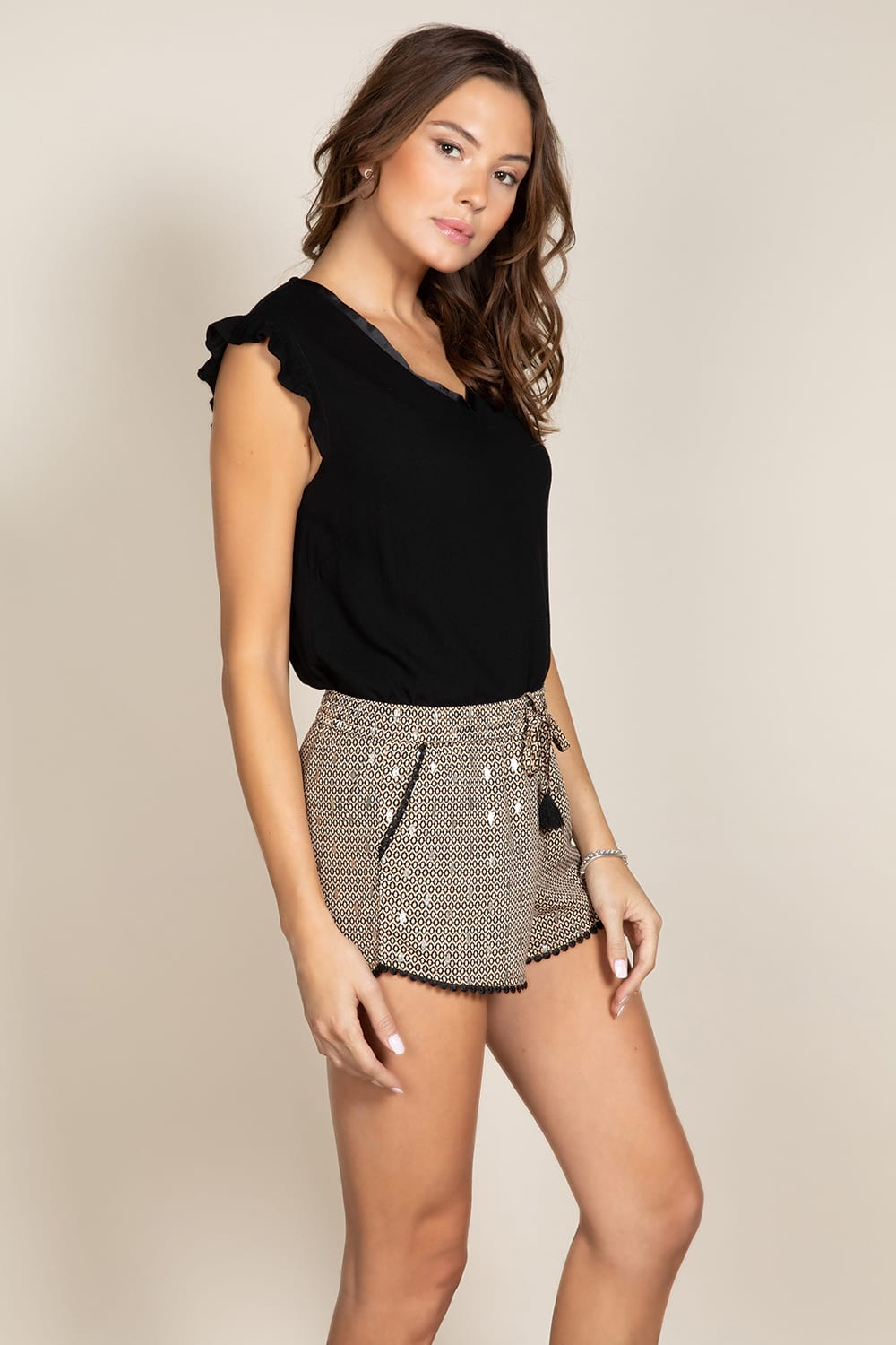 Blouse MILY - Couleur - Black, Taille - XS