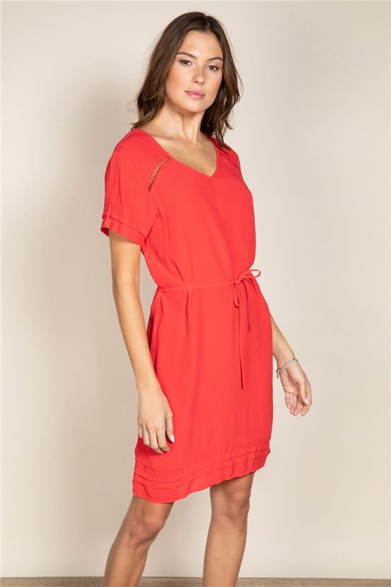 Robe Robe NEMI Femme S20214W (53500) - DEELUXE