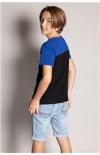 T-Shirt T-Shirt DIXON Garçon S20183B (53638) - DEELUXE