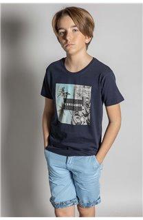 T-Shirt HILO Garçon S20107B (53640) - DEELUXE