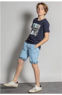 T-Shirt HILO Garçon S20107B (53641) - DEELUXE