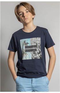 T-Shirt HILO Garçon S20107B (53642) - DEELUXE