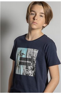 T-Shirt HILO Garçon S20107B (53644) - DEELUXE