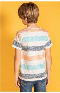 T-Shirt SPRINGS Garçon S20142B (53653) - DEELUXE