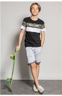 T-Shirt T-Shirt WICKSON Garçon S20185B (53655) - DEELUXE