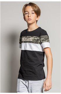 T-Shirt T-Shirt WICKSON Garçon S20185B (53657) - DEELUXE
